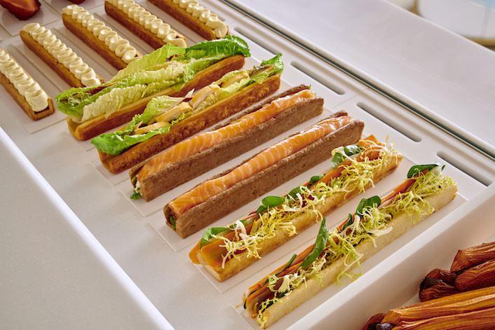 Бутик-кондитерская Ritz Paris Le Comptoir - сэндвичи