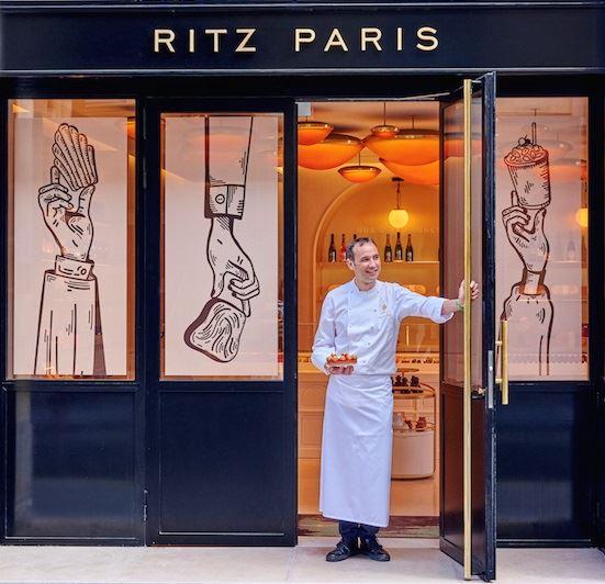 Бутик-кондитерская Ritz Paris Le Comptoir - Франсуа Перре