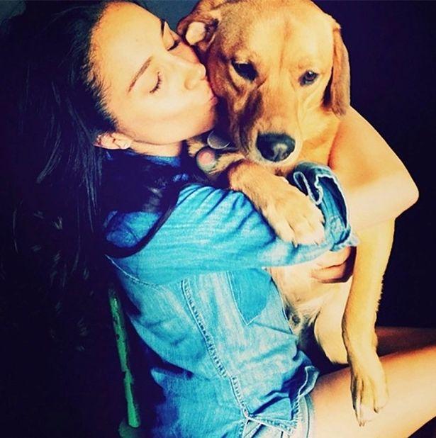 Собаки Меган Маркл - метис лабрадора Богарт с хозяйкой