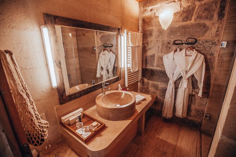 Отель Argos in Cappadocia (Турция) - номер Tiraz Jacuzzi Suite  - спа