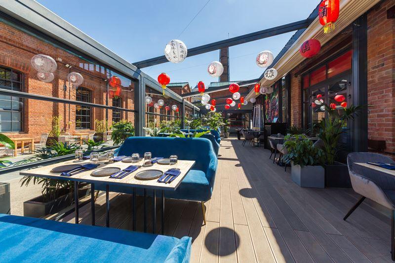 Летняя event-веранда Asiatique Event Hall – уголок Азии в центре Москвы с паназиатской кухней и аутентичным декором