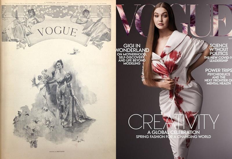 Первые номера модных журналов - Vogue