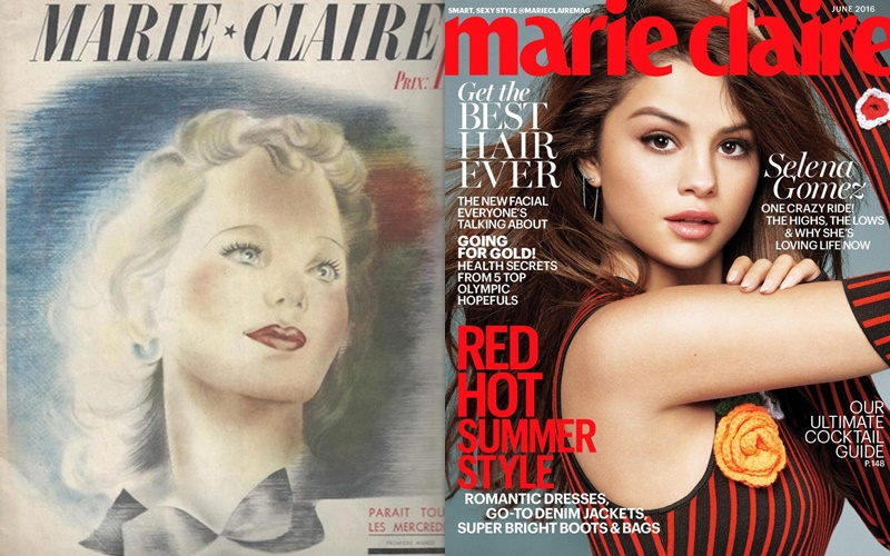 Первые номера модных журналов - Marie Claire