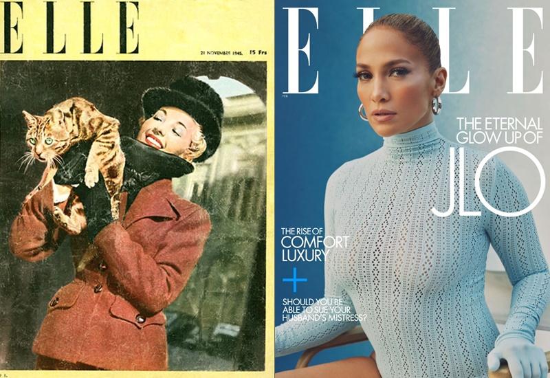 Первые номера модных журналов - Elle