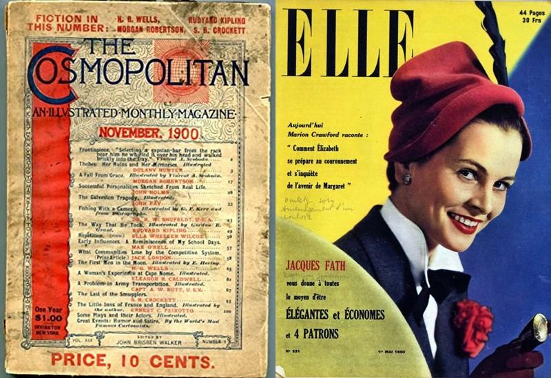 Эволюция глянца: как выглядели первые номера модных журналов