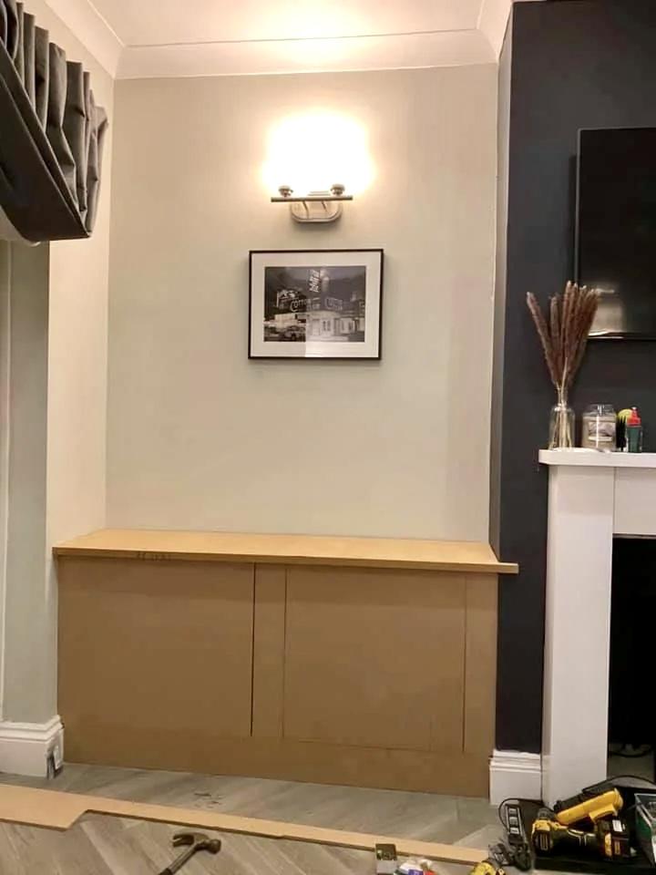 Шкаф своими руками из МДФ-панелей - готовый собранный шкаф