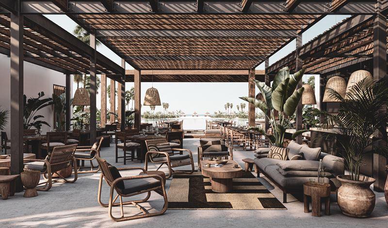 Бутик-курорт Casa Cook «только для взрослых» (Египет) - лаундж