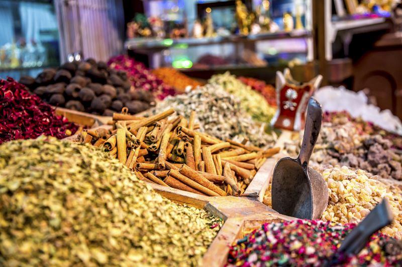 Эко-фермы и рынки Дубая - Рынок специй
