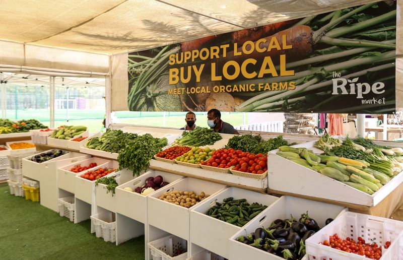 Эко-фермы и рынки Дубая - The Ripe Market