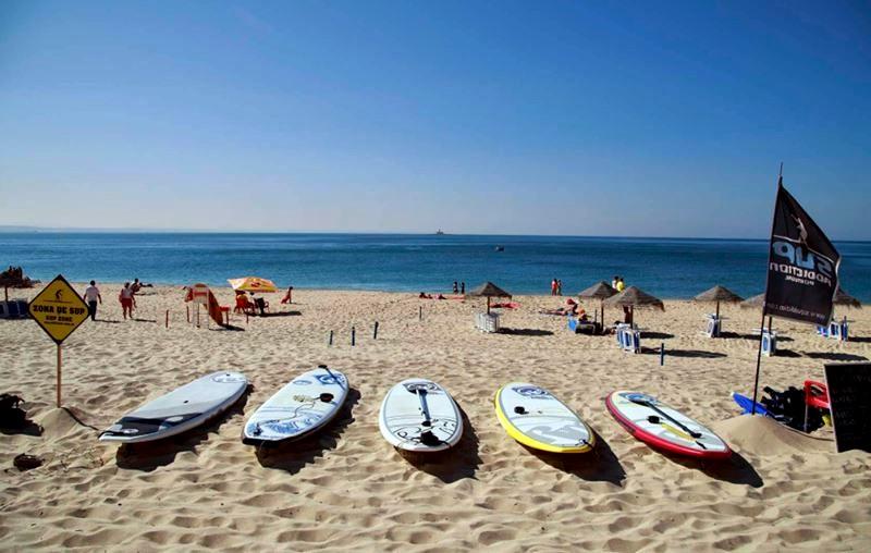 Серфинг и водные активности в Лиссабоне - пляж