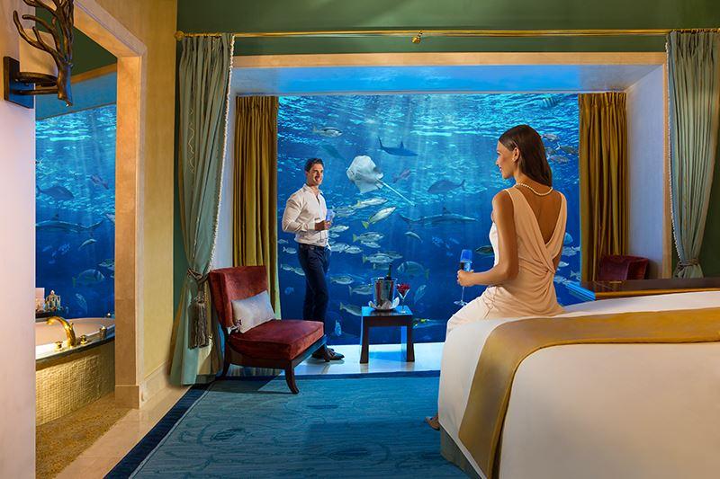 Лучшие подводные отели мира - Atlantis, The Palm (Дубай, ОАЭ)