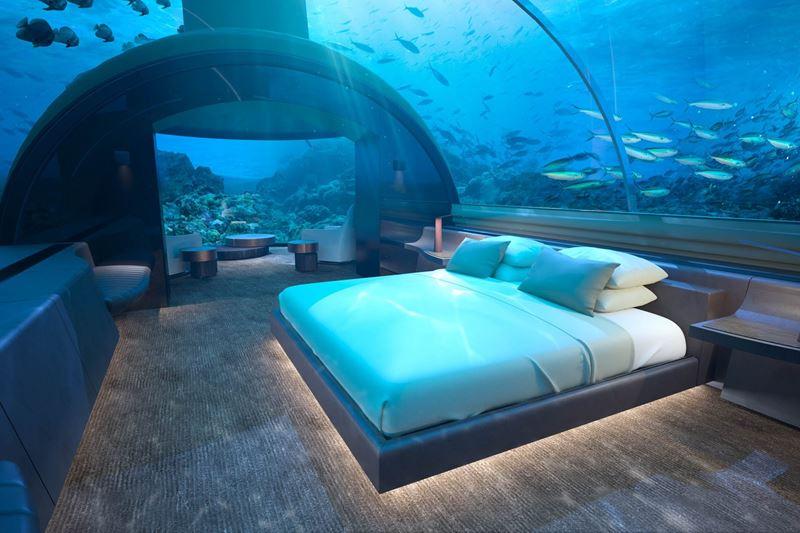 Лучшие подводные отели мира - Conrad Maldives Rangali Island
