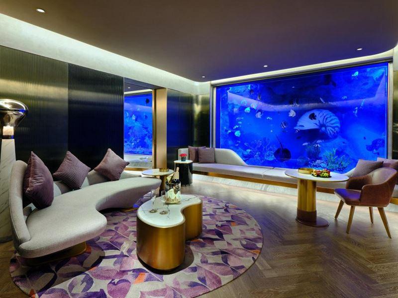 Лучшие подводные отели мира - InterContinental Shanghai Wonderland