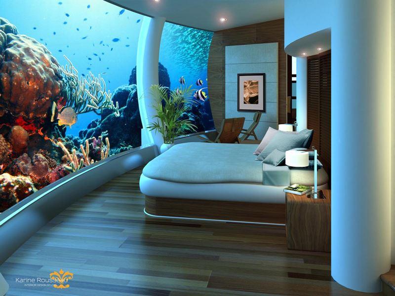 Лучшие подводные отели мира - Poseidon Undersea Resorts