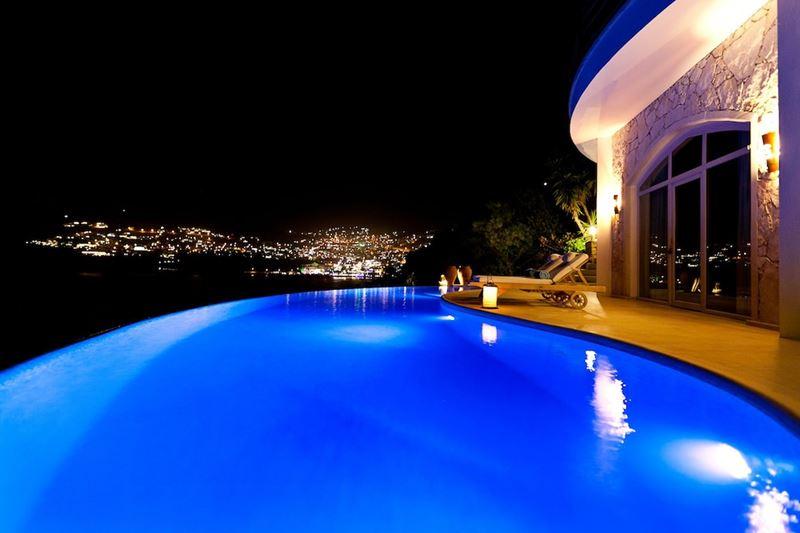 Бассейны-инфинити с панорамными видами - Hotel Villa Mahal (Калкан, Анталия, Турция)