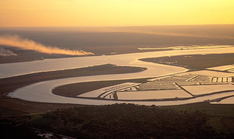 Природные парки и заповедники Лиссабона - Природный заповедник Устья Саду