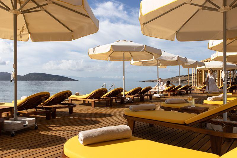 Пляжные клубы в отелях - METT Hotel & Beach Resort Bodrum (Турция)