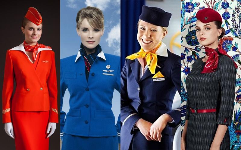 Стиль на высоте: как выглядят стюардессы разных авиакомпаний Европы