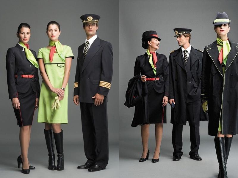 Форма стюардесс авиакомпаний Европы - TAP Airlines (Португалия)