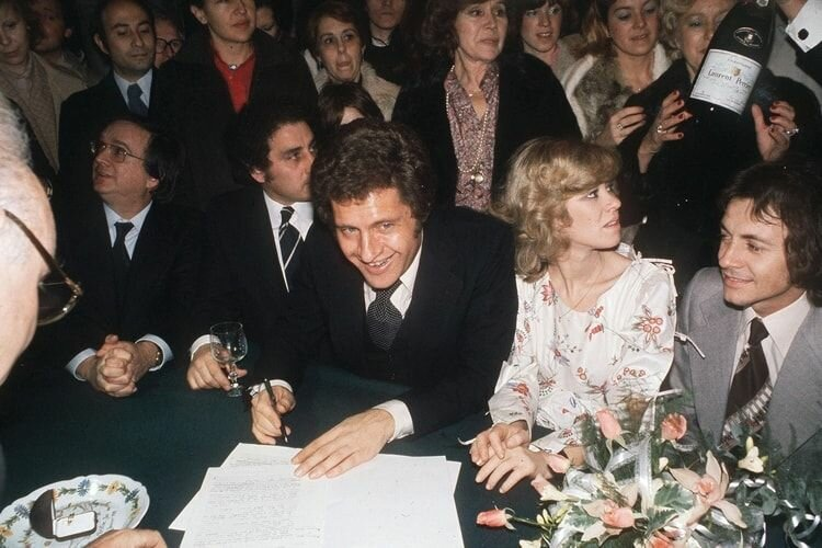 Жёны и дети Джо Дассена - свадьба с Кристин Дельво
