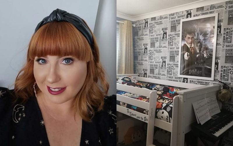 Тайная комната: женщина сделала ремонт в спальне дочери, создав интерьер в стиле «Гарри Поттера»