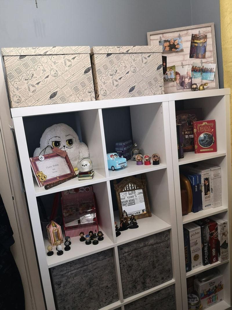 Интерьер спальни для девочки в стиле «Гарри Поттера» - шкаф