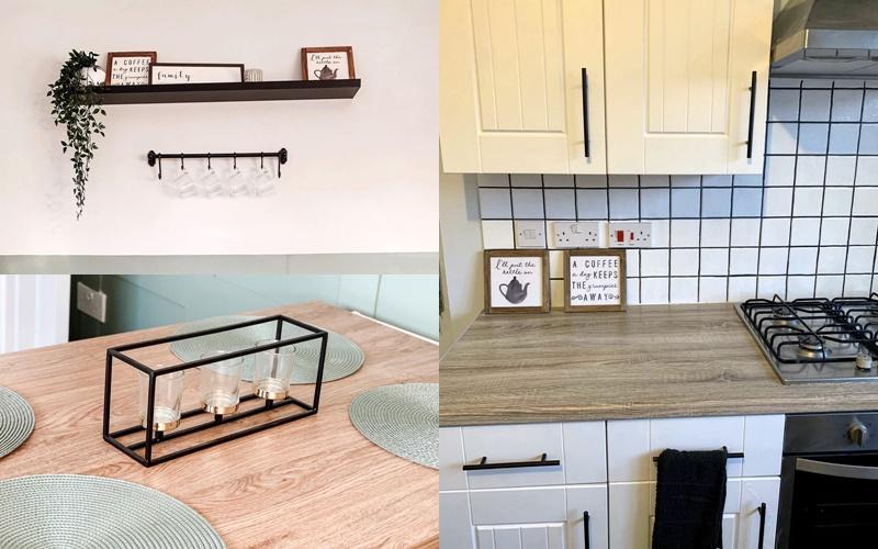 Деревянная кухня наследство - детали после ремонта