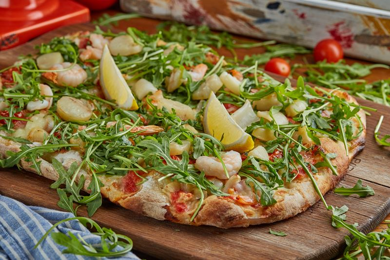 Римская пицца - начинки - Фрутти ди маре