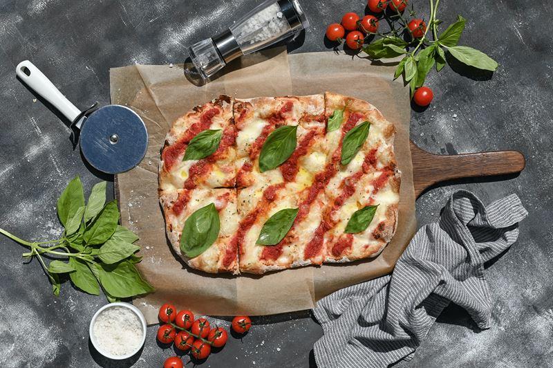 Римская пицца - начинки - Пицца «Маргарита»