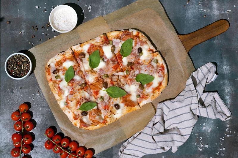 Римская пицца - начинки - Мясное ассорти