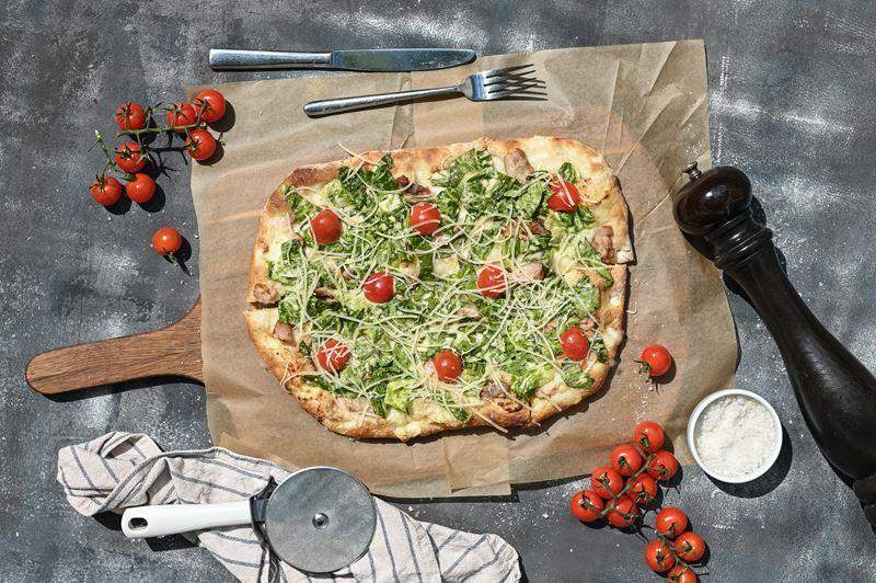 Римская пицца - начинки - Пицца «Поло Романа»