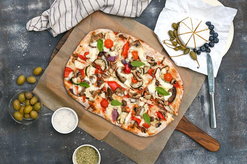 Римская пицца - начинки - Вегетарианская пицца