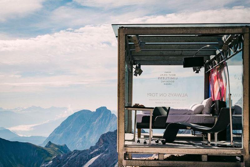 Самый высокий отельный номер Германии Accor Novotel - интерьер
