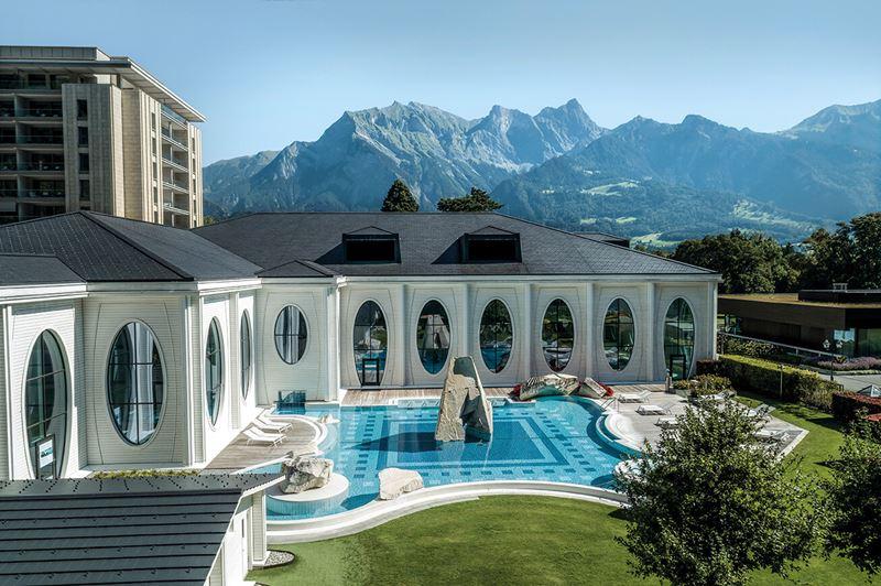 Спа-курорт Grand Resort Bad Ragaz (Швейцария) - пейзаж