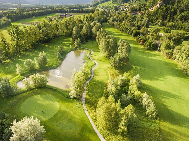 Спа-курорт Grand Resort Bad Ragaz (Швейцария) - гольф