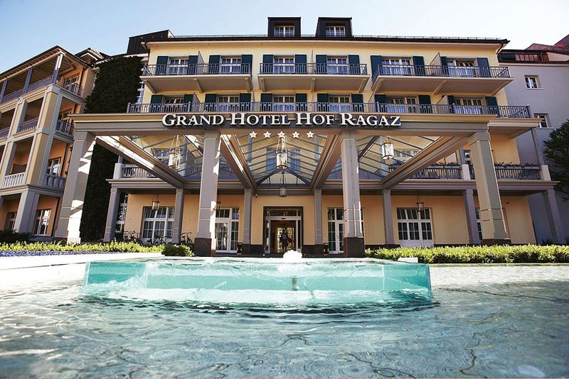 Спа-курорт Grand Resort Bad Ragaz (Швейцария) - Grand Hotel Hof Ragaz
