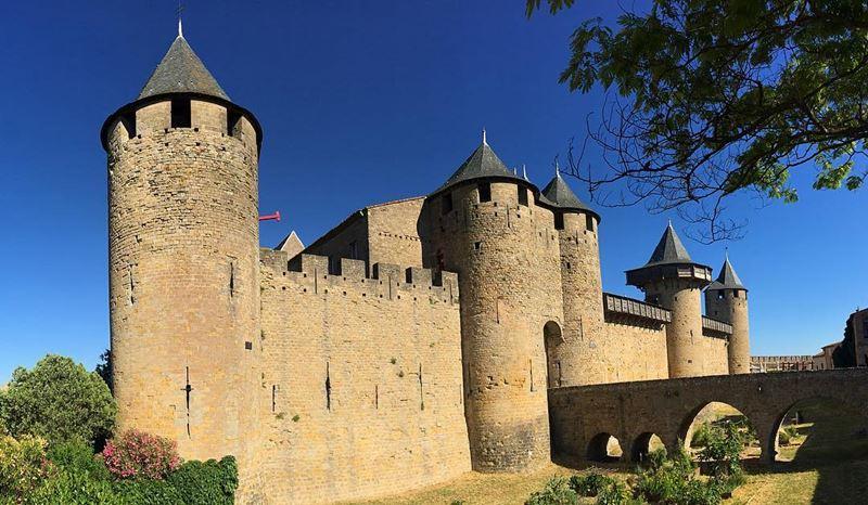 Красивые места и города Франции: Каркассон