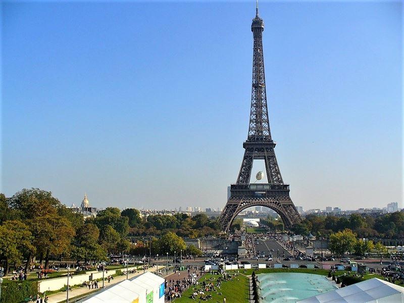 Красивые места и города Франции: Париж