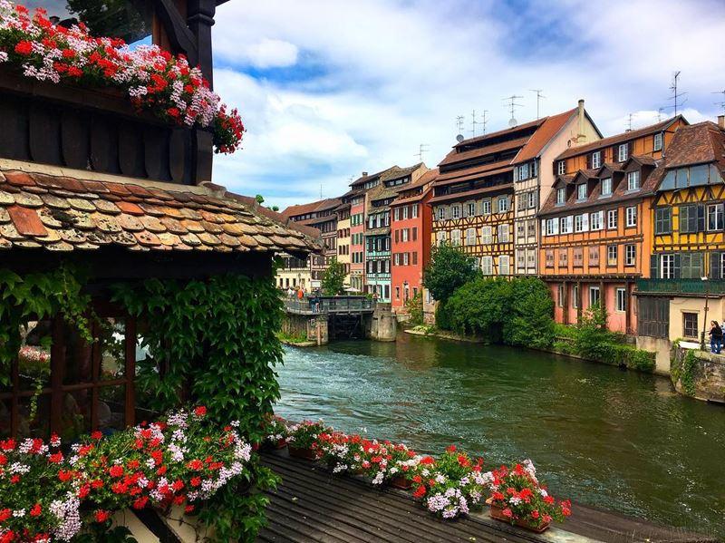 Красивые места и города Франции: Страсбург