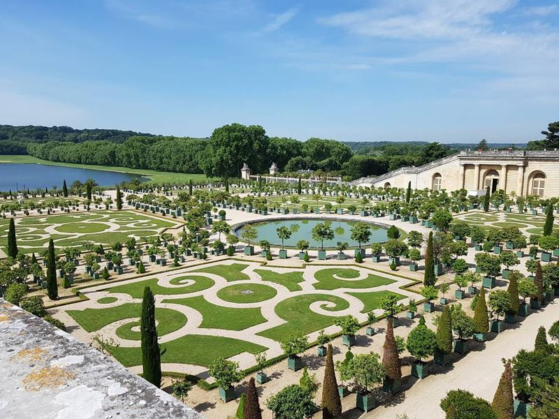 Красивые места и города Франции: Версаль