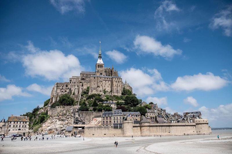 Красивые места и города Франции: Мон Сен-Мишель