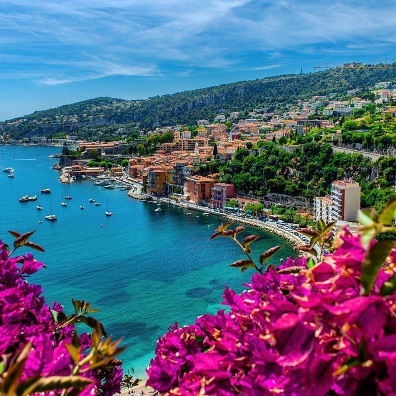Красивые места и города Франции: Лазурный берег