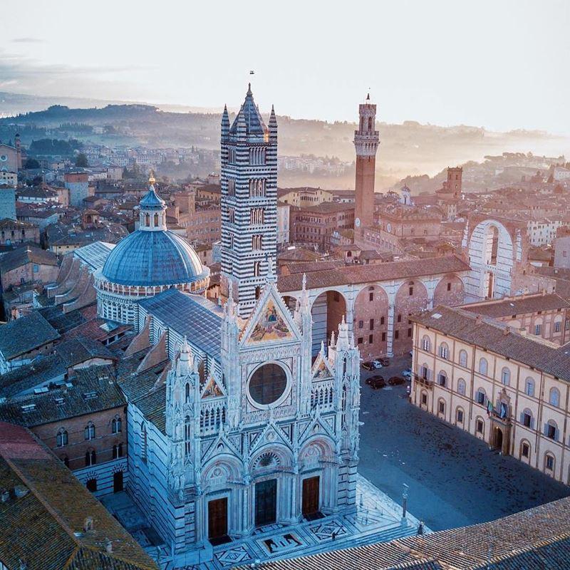 Красивые города Тосканы: Сиена