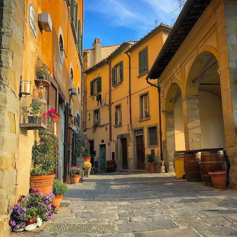 Красивые города Тосканы: Кортона