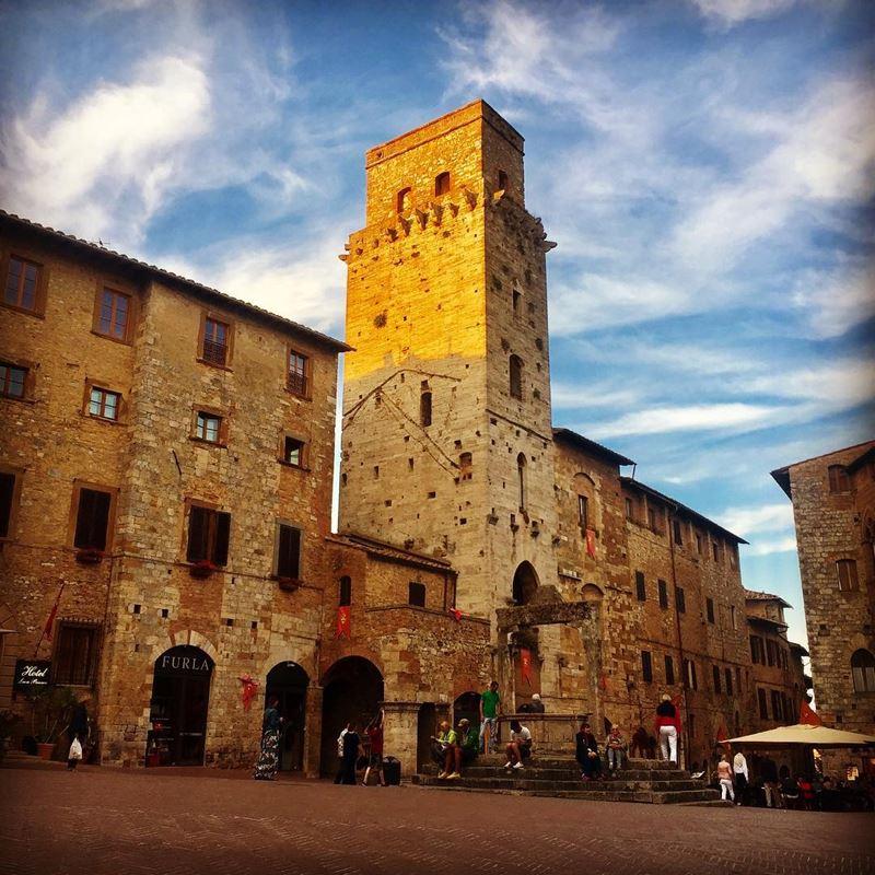 Красивые города Тосканы: Сан-Джиминьяно