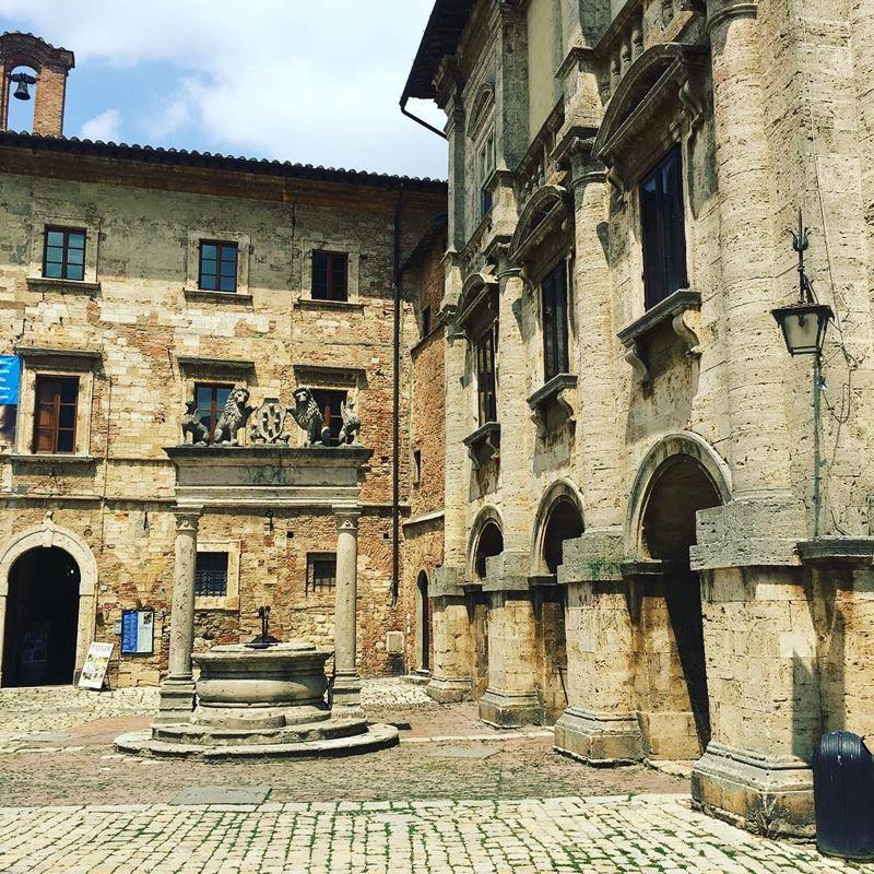 Красивые города Тосканы: Монтепульчано