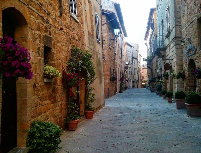 Красивые города Тосканы: Пьенца