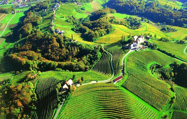 пейзаж Словении