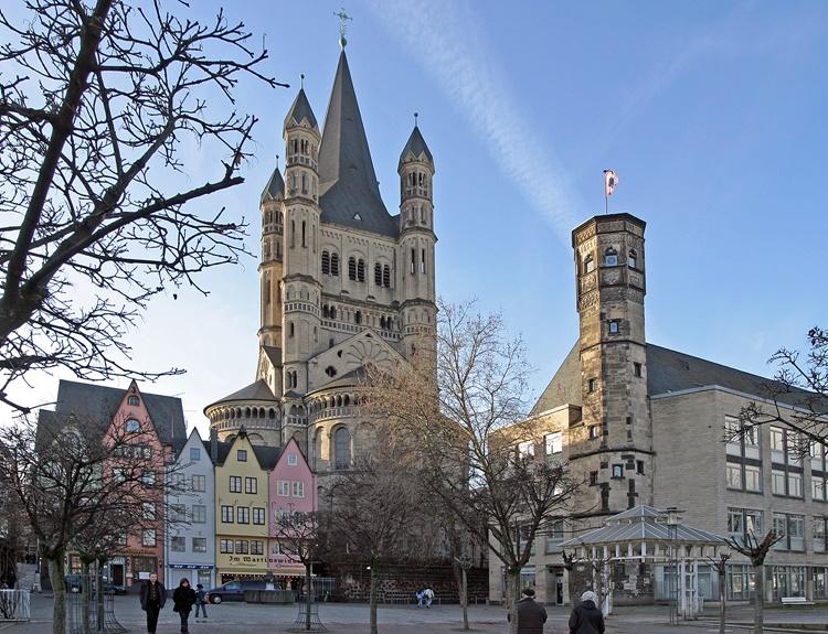 Что посмотреть в Кёльне: церковь Святого Мартина