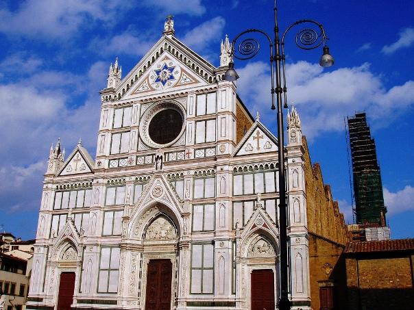 базилика Сан-Кроче флоренция, города италии